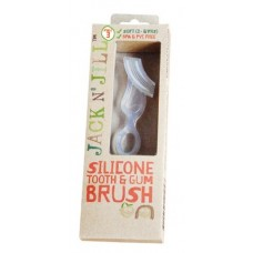 Silikon Dişlik ve çift taraflı fırça 1-4 yaş