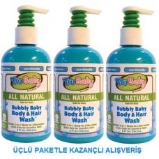 Bubbly Hair & Body Wash  236 Ml 3 lü Ekopaket