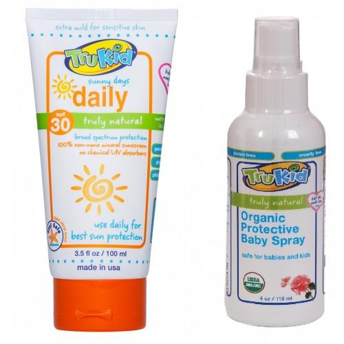 Trukid Sunny Days SPF30 Güneş Kremi 100ML. ve  Kovucu Paket